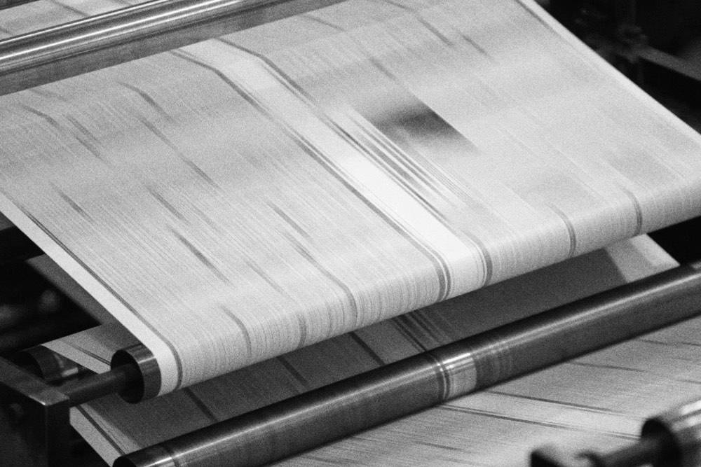 Newsprint Paper Suppliers in action