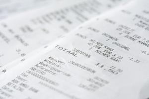 Thermal Paper Receipt