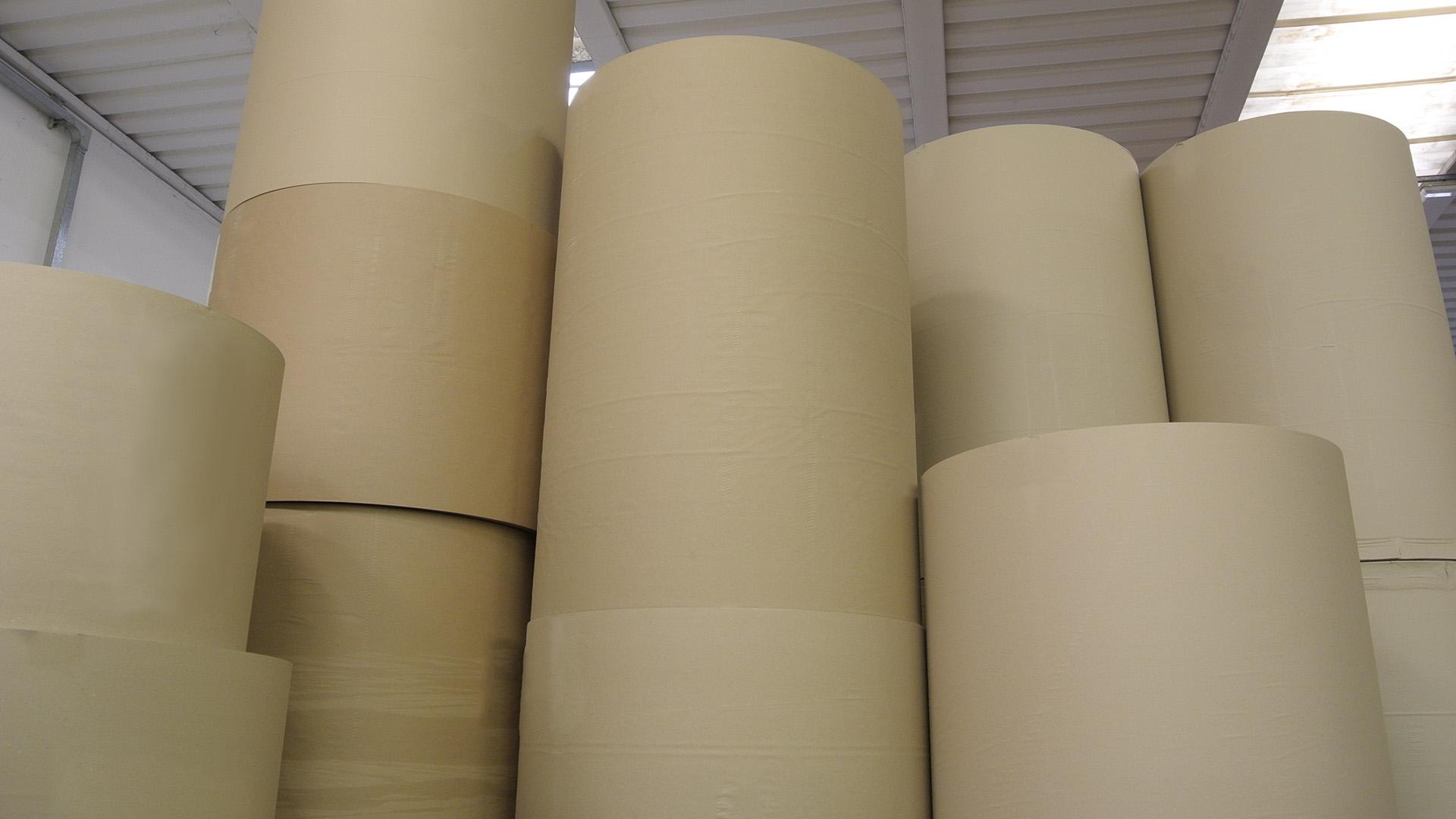 Duplex and Triplex Board is available in rolls or sheets.